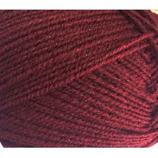 Пряжа Пехорка Мерцающая, цвет № 07 (Бордо)