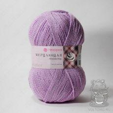 Пряжа Пехорка Мерцающая, цвет № 29 (Розовая сирень)