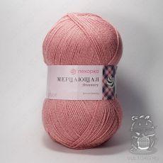 Пряжа Пехорка Мерцающая, цвет № 85 (Розовая дымка)