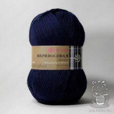Пряжа Пехорка Мериносовая, цвет № 04 (Темно-синий)