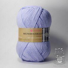 Пряжа Пехорка Мериносовая, цвет № 177 (Голубое небо)