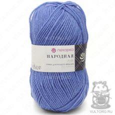 Пряжа Народная Пехорка, цвет № 520 (Голубая пролеска)
