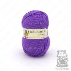 Пряжа Пехорка Школьная, цвет № 78 (Фиолетовый)
