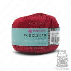Пряжа Успешная Пехорка, цвет № 06 (Красный)