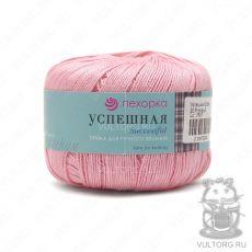 Пряжа Успешная Пехорка, цвет № 20 (Розовый)