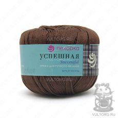 Пряжа Успешная Пехорка, цвет № 416 (Светло-коричневый)
