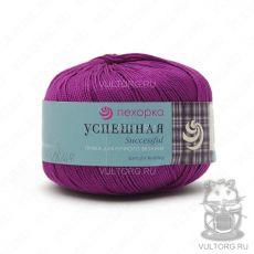 Пряжа Успешная Пехорка, цвет № 87 (Темно-лиловый)