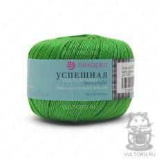 Пряжа Успешная Пехорка, цвет № 480 (Яркая зелень)