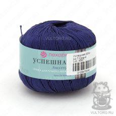 Пряжа Успешная Пехорка, цвет № 04 (Темно-синий)