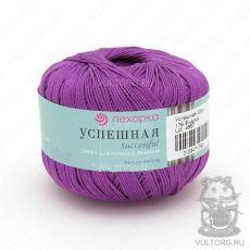 Пряжа Успешная Пехорка, цвет № 179 (Фиалка)