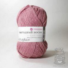 Пряжа Пехорка Выгодный носок, цвет № 85 (Розовая дымка)