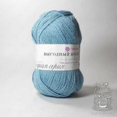 Пряжа Пехорка Выгодный носок, цвет № 877 (Небесно-голубой)