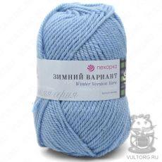 Пряжа Пехорка Зимний вариант, цвет № 05 (Голубой)