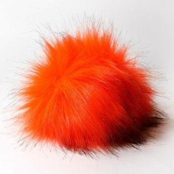 Помпон Наследие, 14 см № 46 (Оранжевый неон)