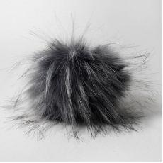 Помпон (Наследие) Серый 15 см