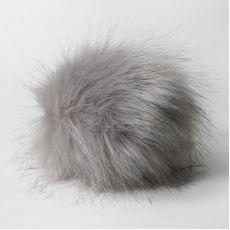 Помпон (Наследие) Серый 17 см