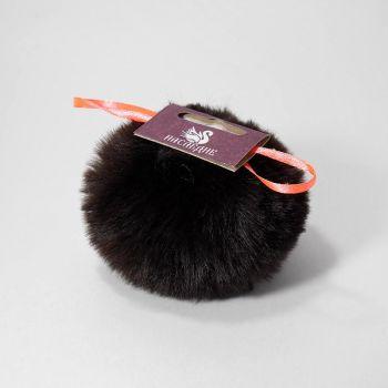 Помпон (Наследие) Черный янтарь 8 см
