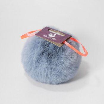 Помпон (Наследие) Серо-голубой 8 см
