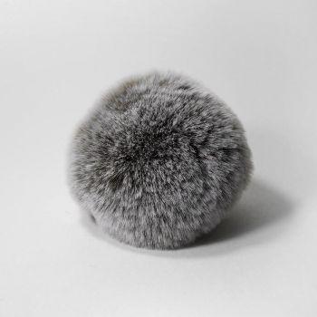 Помпон (Наследие) Шиншилла серый 8 см