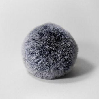 Помпон (Наследие) Шиншилла синий 8 см