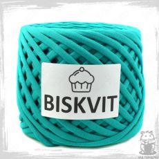 Трикотажная пряжа Biskvit, цвет Изумруд