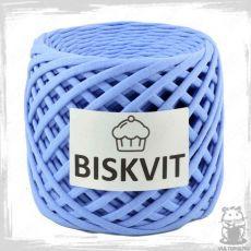 Трикотажная пряжа Biskvit, цвет Колокольчик