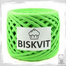 Трикотажная пряжа Biskvit, цвет Яблоко