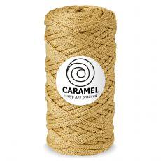 Шнур полиэфирный Caramel 5 мм, цвет Имбирь