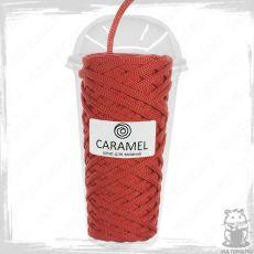 Шнур полиэфирный Caramel 5 мм, цвет Красный