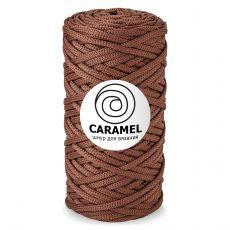 Шнур полиэфирный Caramel 5 мм, цвет Шоколад
