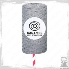 Шнур полиэфирный Caramel 5 мм, цвет Грей