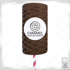 Шнур полиэфирный Caramel 5 мм, цвет Корица