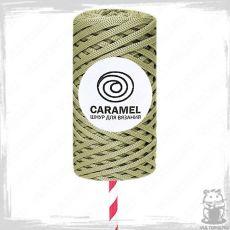 Шнур полиэфирный Caramel 5 мм, цвет Лён