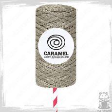 Шнур полиэфирный Caramel 5 мм, цвет Пралине