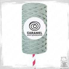 Шнур полиэфирный Caramel 5 мм, цвет Пыльная мята