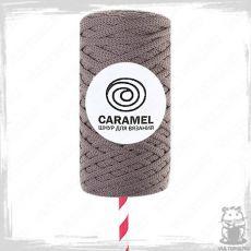 Шнур полиэфирный Caramel 5 мм, цвет Роуз