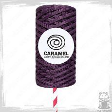 Шнур полиэфирный Caramel 5 мм, цвет Вельвет