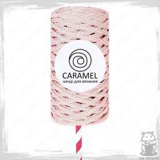 Шнур полиэфирный Caramel 5 мм, цвет Зефир