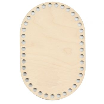 Дно для сумки Скруглённый прямоугольник 15х22 см