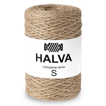 Джутовая пряжа Halva S, цвет Натуральный