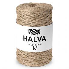 Джутовая пряжа Halva M, цвет Натуральный
