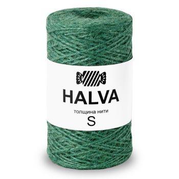 Джутовая пряжа Halva S, цвет Алоэ