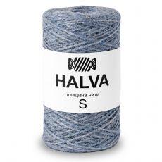 Джутовая пряжа Halva S, цвет Голубика