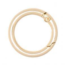 Кольцо разъёмное 25 мм. (золото)