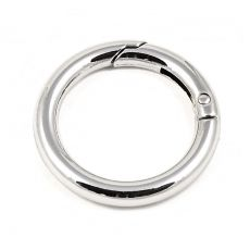 Кольцо разъёмное 35 мм. (никель)