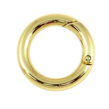 Кольцо разъёмное 35 мм. (золото)