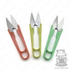 Ножнички с пластмассовыми ручками