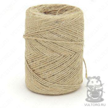 Джут для макраме Пехорка, цвет № 371 (Натуральный серый)