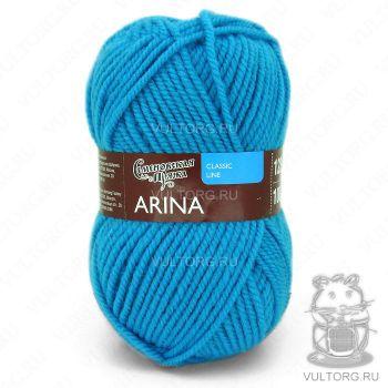 Арина ПШ, Семеновская пряжа, цвет № 290 (Голубая бирюза)