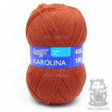 Каролина, Семеновская пряжа, цвет № 7095 (Красный терракот)